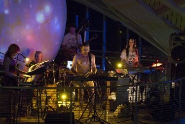 Michel Montecrossa and his Lightsound Orchestra - live in der Toskana Therme Bad Sulza