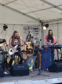 Michel Montecrossa und seine Band The Chosen Few live in Brandis-Beucha beim \'Sun and Peace Woodstock in Beucha\'