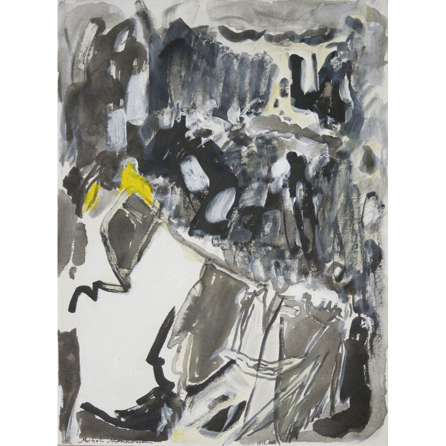 Betende FRau (Praying Woman) - painting by Michel Montecrossa