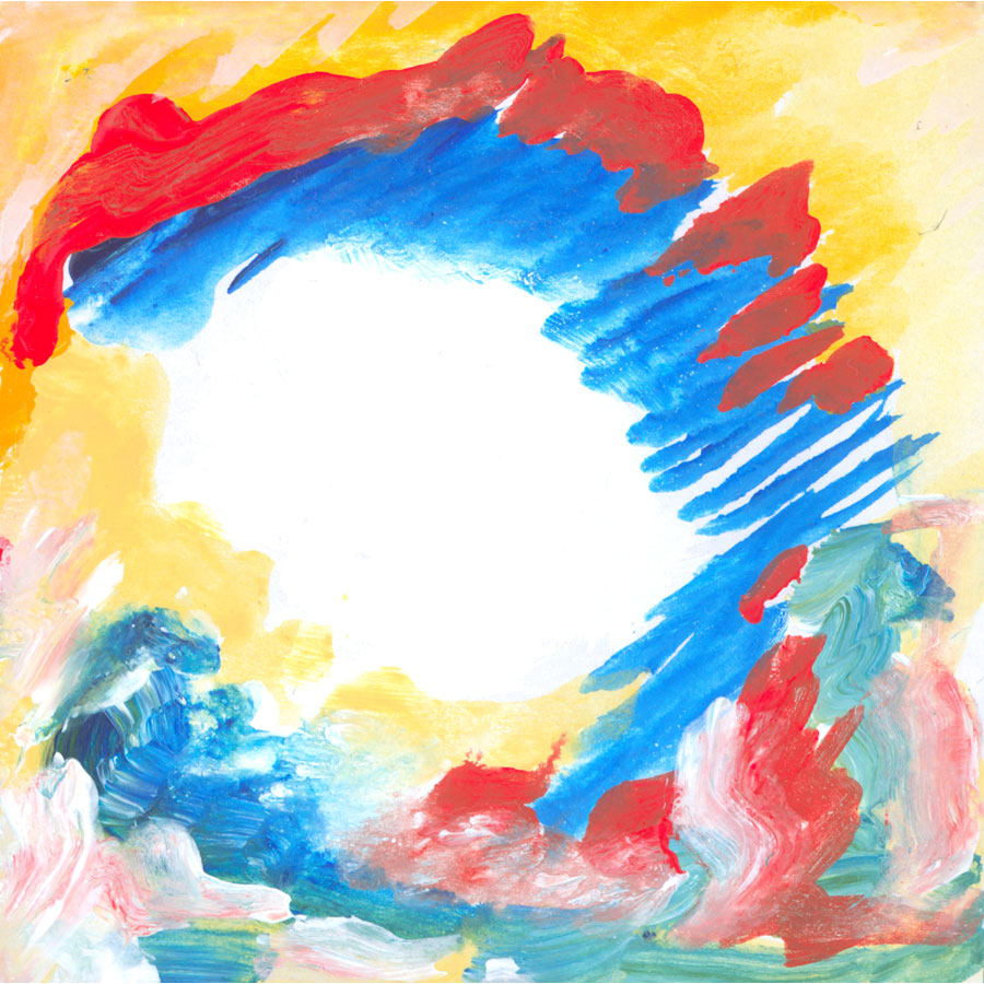 Happiness Is True - painting by Michel Montecrossa