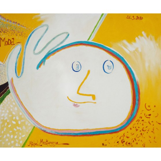 Mood - painting by Michel Montecrossa