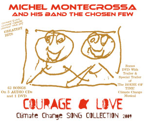 Cover: Michel Montecrossa's 'Courage & Love Climate Change Song Collection 2009''