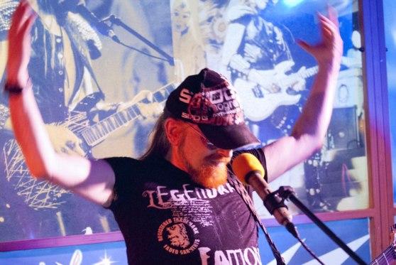 Michel Montecrossa - Live-Konzert im MIchel Montecrossa Rock Vision Diner