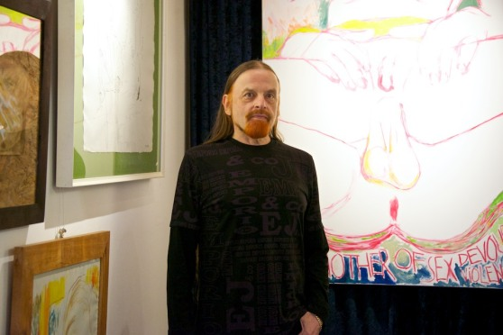 Michel Montecrossa at the New Art Gallery
