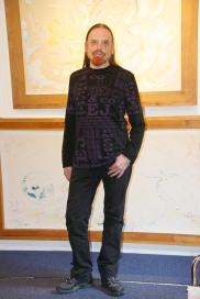 Michel Montecrossa - Miravillage New Art Gallery Portrait