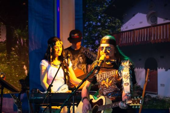 Michel Montecrossa live at the Mirapuri World Peace Festival Concert 2013, 9