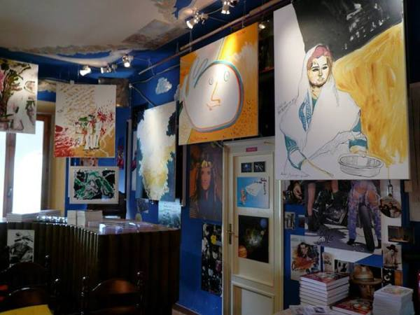 'CREATIVITY' autumn-winter 2013/2014 art exhibition of Michel Montecrossa's Paintings and drawings - pic 1