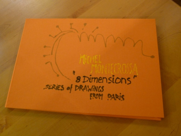 Cover - Michel Montecrossa's Box-Set '8 Dimensions' Series Of Drawings From Paris