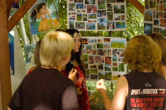 Art exhibition at the Mirapuri World Peace Festival