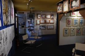 Photo show of the Michel Montecrossa 'CREATION' Art Exhibition, 16