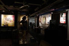 Photo show of the Michel Montecrossa 'CREATION' Art Exhibition, 14