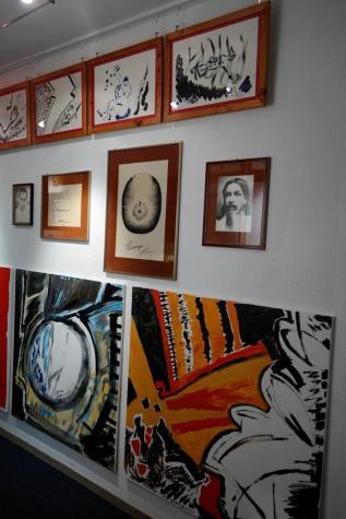 Photo show of the Michel Montecrossa 'CREATION' Art Exhibition, 13