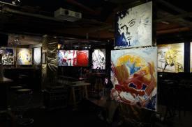 Photo show of the Michel Montecrossa 'CREATION' Art Exhibition, 12