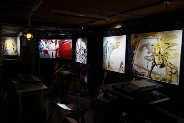 Photo show of the Michel Montecrossa 'CREATION' Art Exhibition, 11