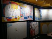 CREATION ART EXHIBITION of Michel Montecrossa paintings and drawings; preparations - picture 10