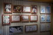 Photo show of the Michel Montecrossa 'CREATION' Art Exhibition, 9