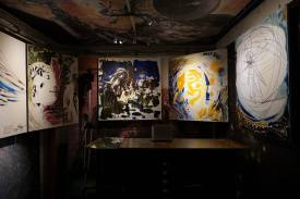 Photo show of the Michel Montecrossa 'CREATION' Art Exhibition, 8
