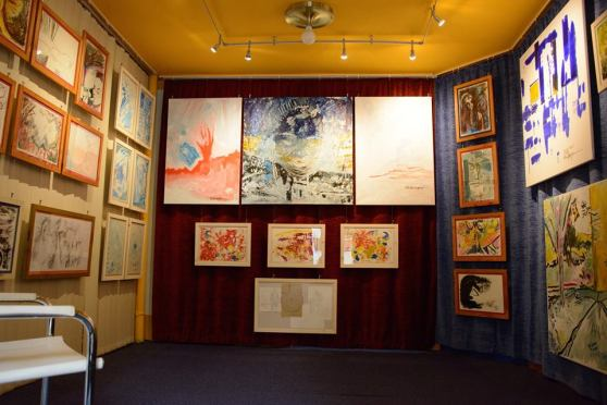 of the Michel Montecrossa 'CREATION' Art Exhibition with 223 New Paintings & Drawings, 2