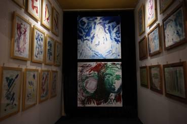Photo show of the Michel Montecrossa 'CREATION' Art Exhibition, 3