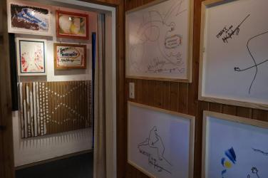 Photo show of the Michel Montecrossa 'CREATION' Art Exhibition, 4