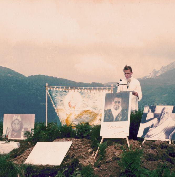 Mirapuri Foundation Day 15th August 1978