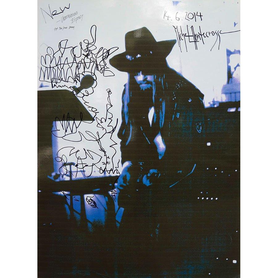 New Underground Ecstasy - Cyberart and ink drawing by Michel Montecrossa