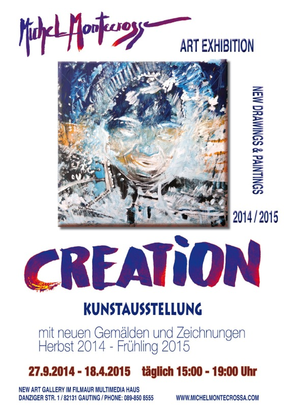 CREATION Autumn 2014 - Spring 2014 Art Exhibition