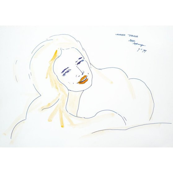 Lachende Tarana - Fine Art by Michel Montecrossa