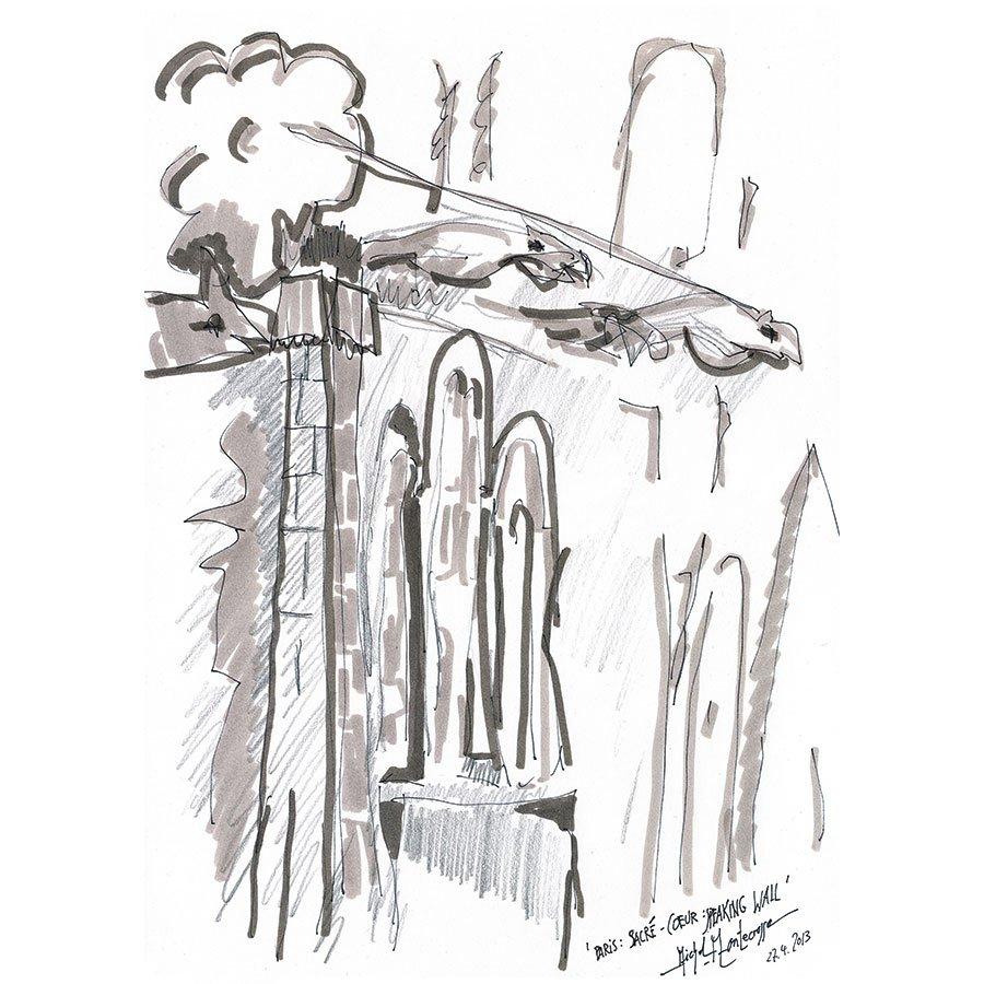 Paris: Sacré-Coeur: Speaking Wall