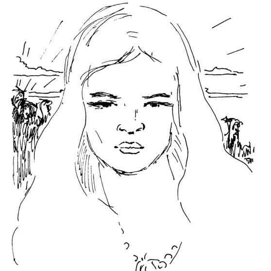 Tarana Portrait - Fine Art by Michel Montecrossa