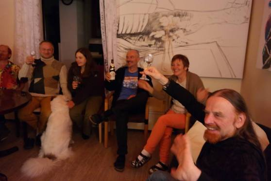 Miravillage being together for enjoying talking about 'Mirapuri and the young - Mirapuri und die Jugend'; Image 2