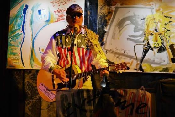 Michel Montecrossa - live in Gauting (Michel Montecrossa Rock Vision Diner)