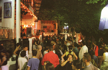 Festival People at the annual Spirit of Woodstock Festival in Mirapuri, (Omnidiet, Mirapuri-Coiromonte, Italy)