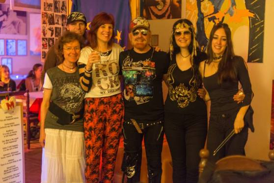 Michel Montecrossa and his band The Chosen Few - Fusion World of Love & Sweetness Concert in Mirapuri, 1
