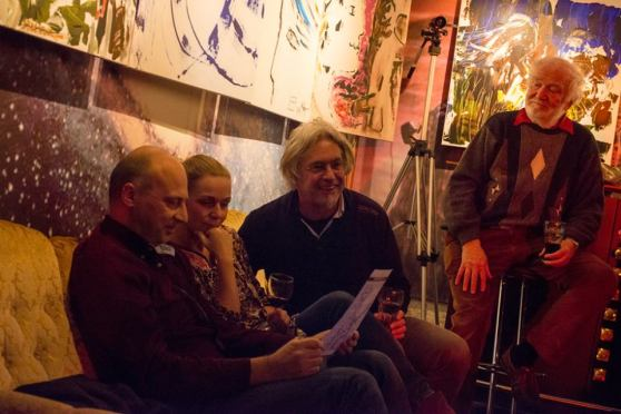 Michel Montecrossa and The Chosen Few at the 'Schmusen & Lachen - Huggin' & Kissin' Concert, 9