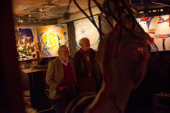 Michel Montecrossa and The Chosen Few at the 'Schmusen & Lachen - Huggin' & Kissin' Concert, 10