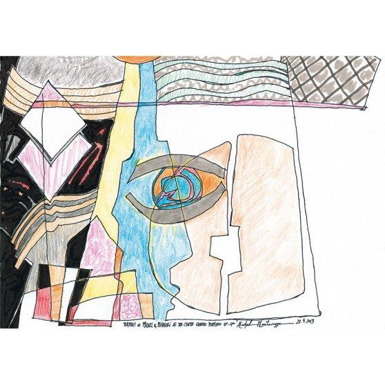Portrait Of Michel & Mirakali As The Centre Georges Pompidou 15.00 - 17.00