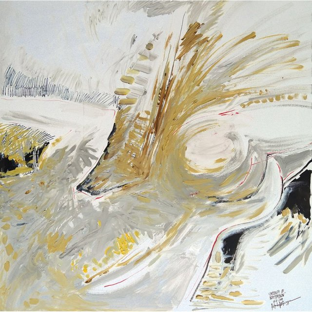 Complexity of Bodypassion - painting by Michel Montecrossa