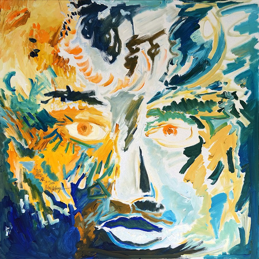 Truth Beyond All - painting by Michel Montecrossa