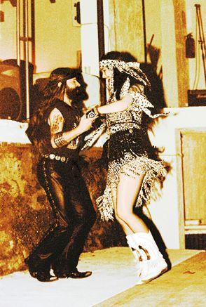 Michel & Mirakali Dancing at Spirit of Woodstock Festival