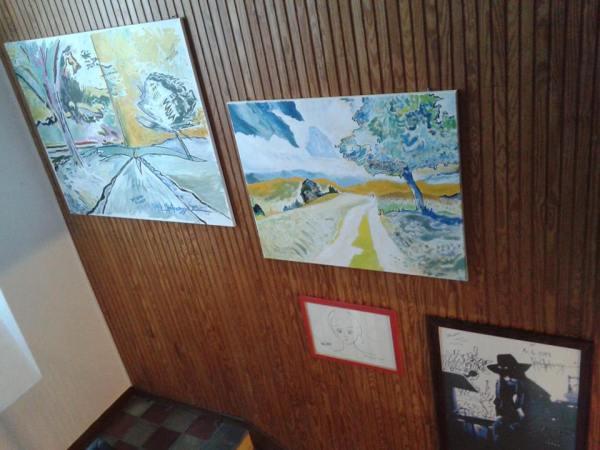 Michel Montecrossa's The Energy of Art Exhibition- Work in Progress, Pic 4