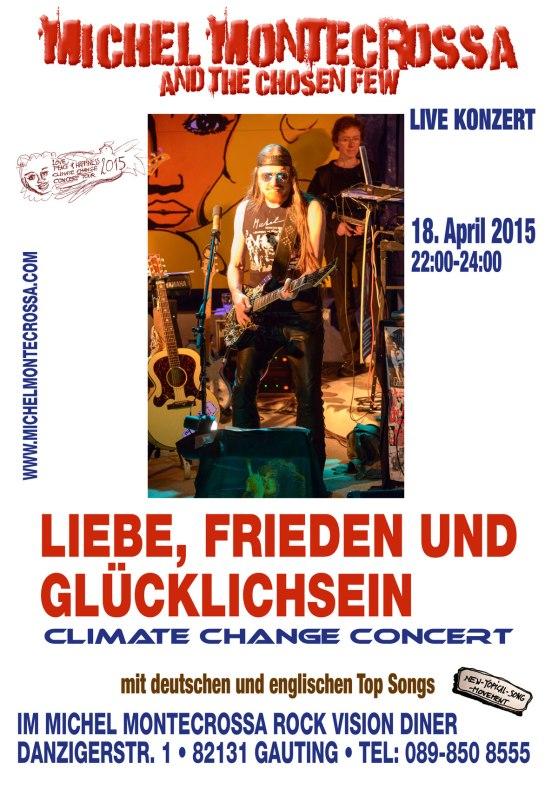 Michel Montecrossa's 'Liebe, Frieden und Glücklichsein' Concert