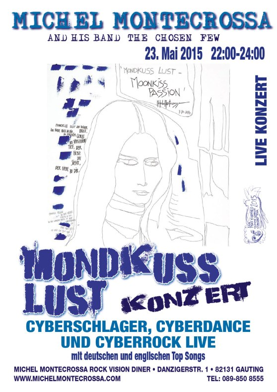 Michel Montecrossa's Mondkuss Lust Concert