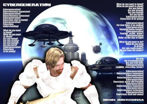 Dreamspace Electronica Fest, Cyberwarrior Michel