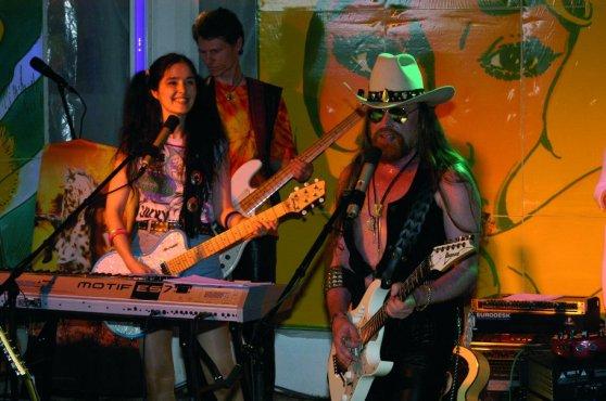 Michel Montecrossa & Mirakali - Spirit of Woodstock Festival in Mirapuri, Italy