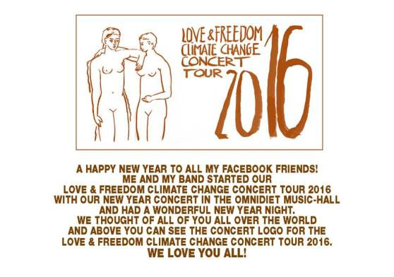 New Year Message & Concert Tour Logo 2015