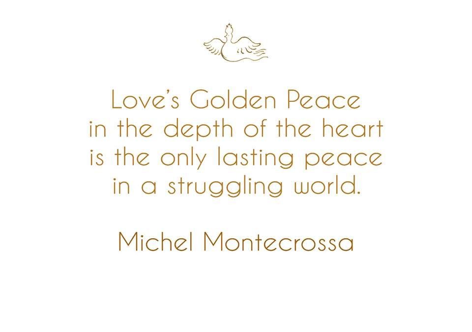 Michel Montecrossa - message on 1 February, 2016