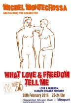 Michel Montecrossa's 'What Love & Freedom Tell Me' Concert