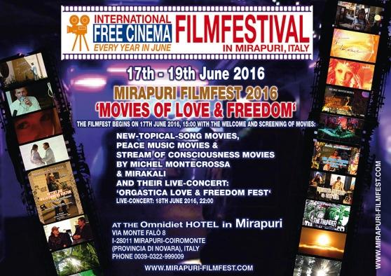 Free Cinema Filmfestival 2016 in Mirapuri