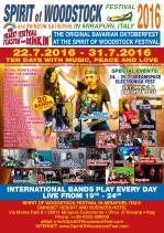 Spirit of Woodstock Festival 2016 in Mirapuri, Italy